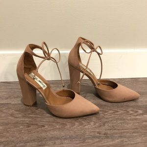 15c4cbf94fd Steve Madden Shoes - Steve Madden PAMPERD heel in Blush Nubuck